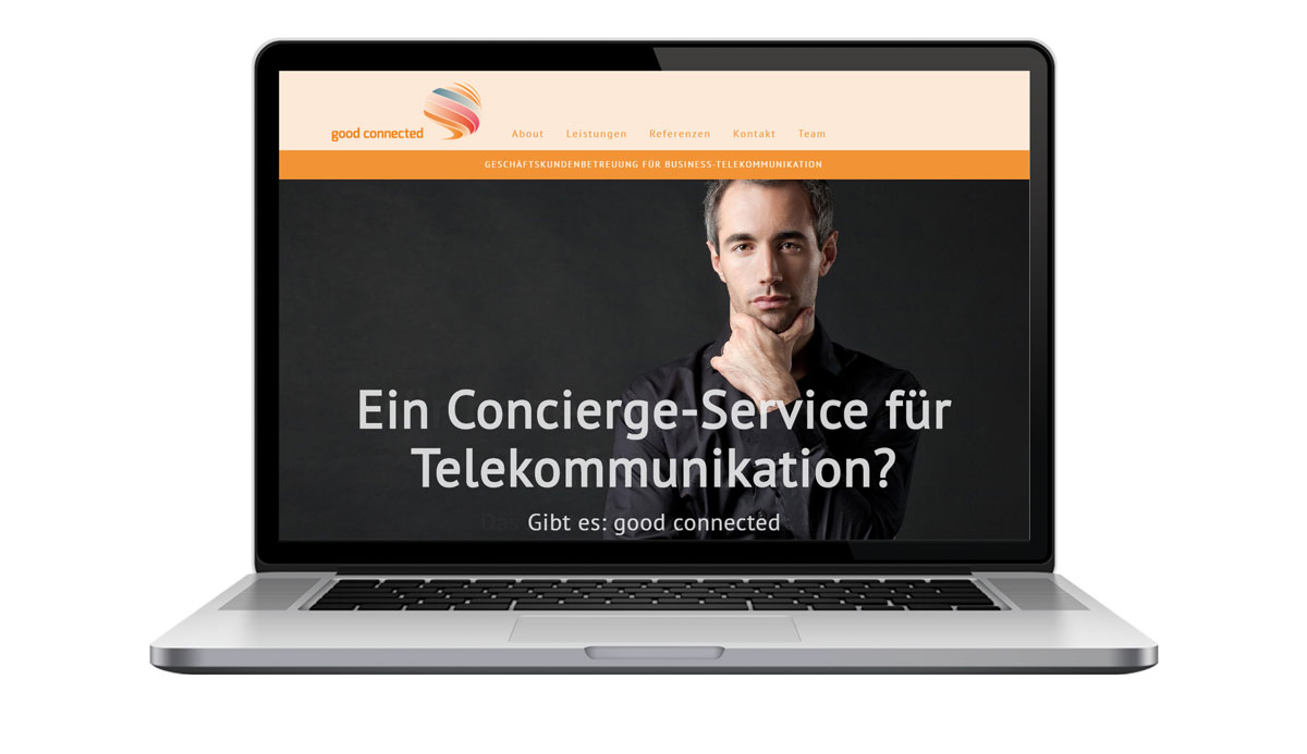 Website good-connected.de